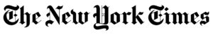 The New York Times logo. The Times did a feature on furnishing a small apartment that features the Double O Nesting Tables from Eugene Stoltzfus